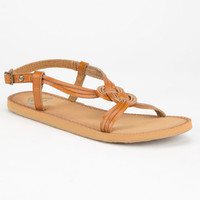 Roxy Solaris Womens Sandals Tan  In Sizes