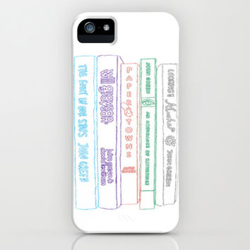 Tfios, Looking for Alaska, An Abundance of Katherines, Paper Towns, Will Grayson Will Grayson #2 iPhone & iPod Case by Anthony Londer | Society6