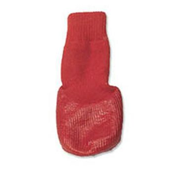 Comet's Non-Skid Bootie Socks - Red
