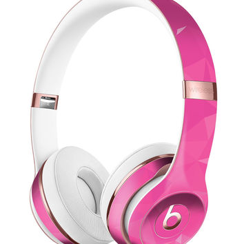Pink Geometric V15 Full-Body Skin Kit for the Beats by Dre Solo 3 Wireless Headphones