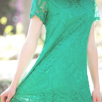 Back! Adorable Lace Tunic!