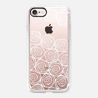 Say it with roses iPhone 7 Carcasa by Julia Grifol Diseñadora Modas-grafica | Casetify