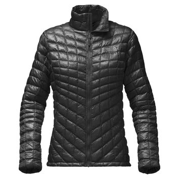 Women's Thermoball Full Zip Jacket in TNF Black by The North Face