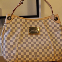 Louis Vuitton Damier Azur Galliera Hobo Bag(available in multiple sizes)