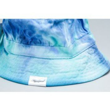 Hypland Tie Dye Bucket Hat (Blue) | All  | Snaphats.com