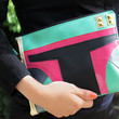 Bounty Hunter Clutch Bag With Wristlet | Star Wars Boba Fett Inspired | Purse | Geek Chic