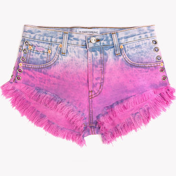 Lux Rose Ombre Babe Shorts