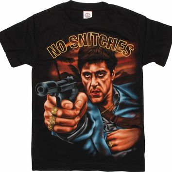 Scarface No Snitches T-Shirt