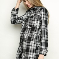 KENDAL FLANNEL DRESS