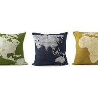 CONTINENT PILLOWS - SET OF 3 | pillow case, dyed pillow case, continental pillow case | UncommonGoods