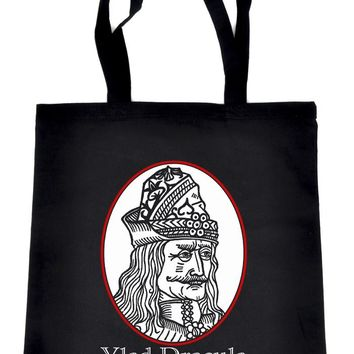 Vlad Dracula The Impaler Tote Bag Book Handbag Vampire Occult