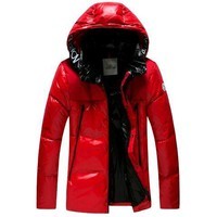 Moncler men's down jacket Fashion men's jacket new discount / red