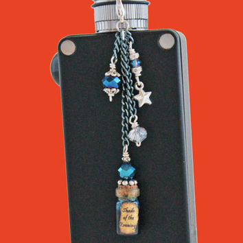 Inspired by GoT - Vape Charm -  Shade of the Evening Potion Mod charm - Ecig charm  -or - Vapor charm - Electronic CigaretteVape Bling