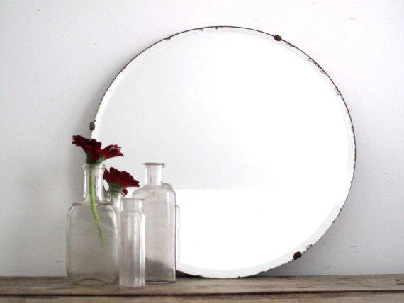 vintage wall mirror frameless from snapshotvintage on 20231