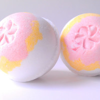 Plumeria Bath Bomb, Bath Fizzy, Bath Bomb 5.5oz, Holiday Gift Ideas