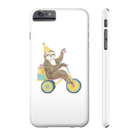 Birthday Sloth Phone Case