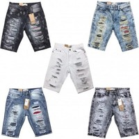 Men's Bleecker & Mercer Distressed Denim Shorts