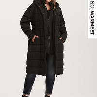 Long Puffer Outerwear Jacket