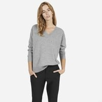 The Cashmere V-Neck - Updated