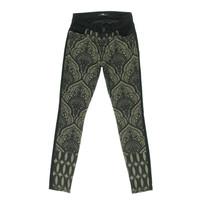7 For All Mankind Womens Jacquard Front Stretch Jeggings
