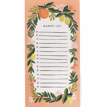 Citrus Floral Market List - Peach