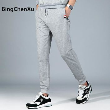 Hip Hop Joggers Pants for Men Sweat Pants Casual Pants Skateboard Sweatpants solid trousers male top quality autumn pants 548