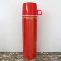 Vintage Retro Thermos Red Thermos King Seeley 1974 Thermos
