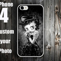 iPhone Case , iPhone 4S Case , iPhone 4 Case , iPhone 5 Case  -- Betty Boop iPhone Case Cover