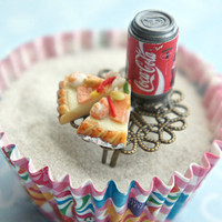 pizza and soda ring