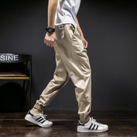 2017 new Joggers New Arrival Fashion Casual Slim Mens Pants Fashion Track Jogger Pants Men Joggers Embroidery Print  Sweat Pants