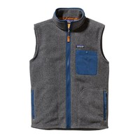 Patagonia Men's Karstens Fleece Vest | Feather Grey
