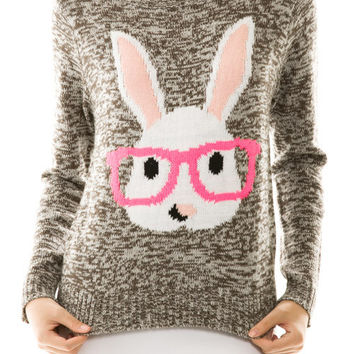Miss Scholastic Bunny Sweater