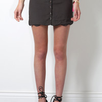 Brooklyn Karma Bellport Skirt - Olive