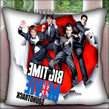 Big Time Rush - Pillow Cover Pillow Case and Decorated Pillow.