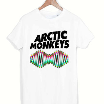 Arctic Monkeys Band tshirt for merry christmas and helloween