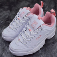 FILA Women Trending Fashion Casual Running Sport Casual Shoes Sneakers Pink G-SLXM-YJDF