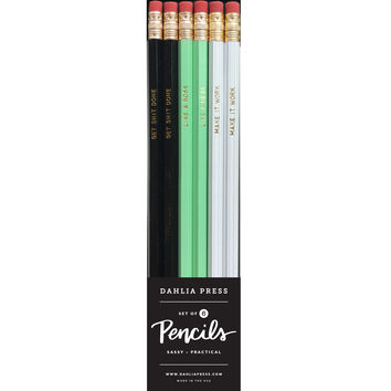 Work Pencil Set