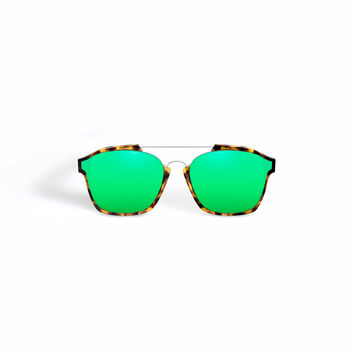 Dior - Abstract Green Sunglasses