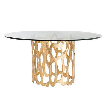 "Arteriors Home Brampton Dining Table, 60"" Dia"