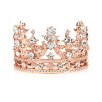 Tiara cuff - Rose Gold | Jewellery | Ted Baker UK