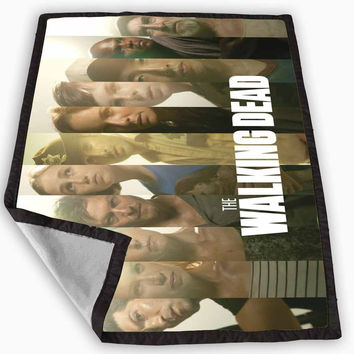 the walking dead 4 Blanket for Kids Blanket, Fleece Blanket Cute and Awesome Blanket for your bedding, Blanket fleece **