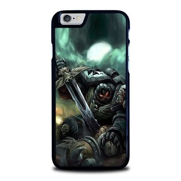 warhammer black templar iphone 6 6s case cover  number 1