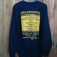 Vtg 90's Lollapalooza Tour Sweatshirt (reserved listing for tyler calhoun)