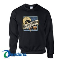 Halloween Moon Sweatshirt Unisex Adult Size S to 3XL