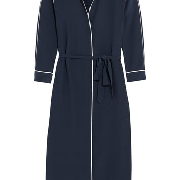 Iris and Ink Zanna silk shirt dress – 0% at THE OUTNET.COM