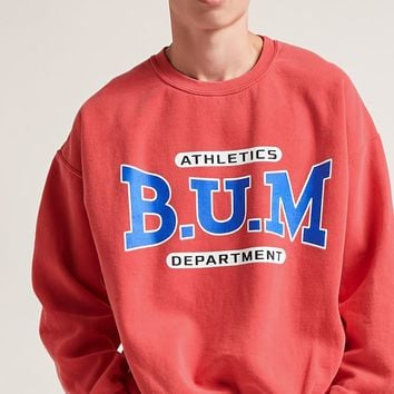 B.U.M Graphic Fleece Sweatshirt