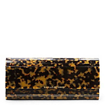 DVF Twilight Tortoise Clutch