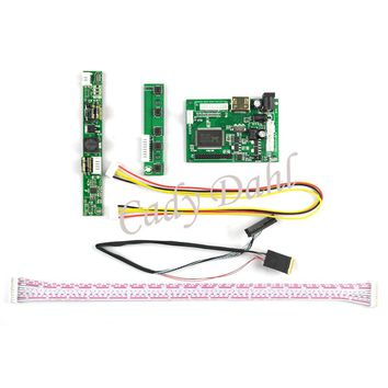"""HDMI LVDS LCD Controller Board+Backlight Inverter+30Pins Cable for Ipad 2 1024X768 9.7"""" LP097X02 SLQ1 SLQE SLN1SLP1 LCD Panel"""