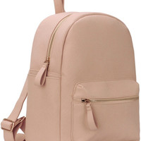 Nikkie - Leather Classic Backpack (Nude)