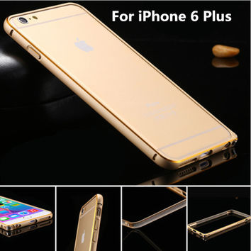 Special Offer Ultrathin Luxury Aluminum Metal Frame Cellphone Case For Apple iPhone 6 iPhone 6 Plus 5 5S 4 4S